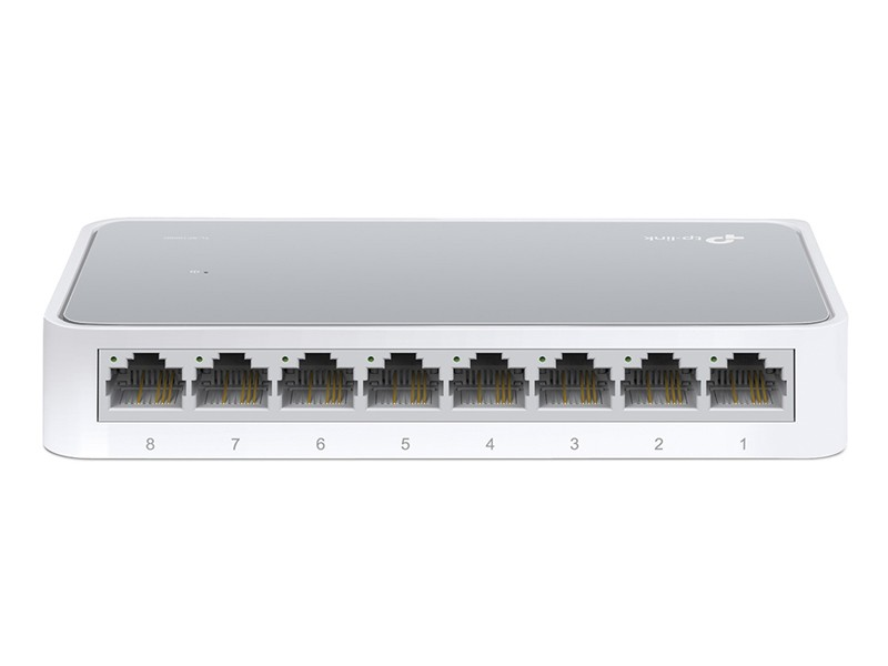 SWITCH TP-LINK TL-SF1008D 8P 10/100MBPS